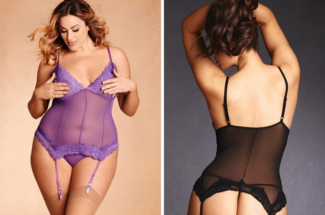 exotic plus size lingerie