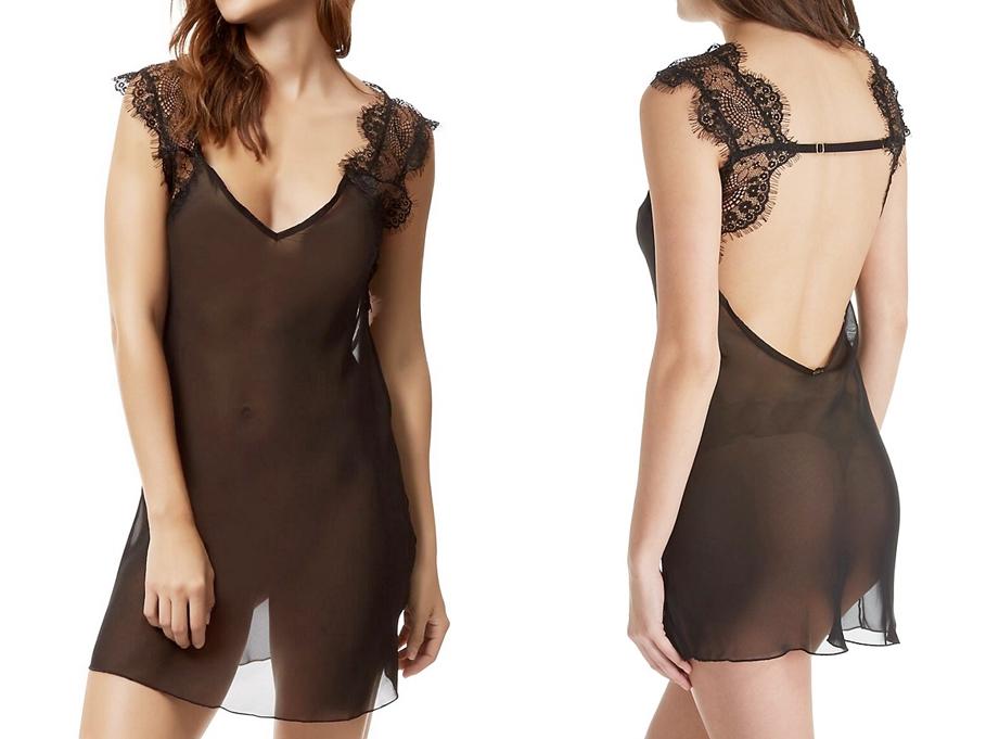 sheer nightgown