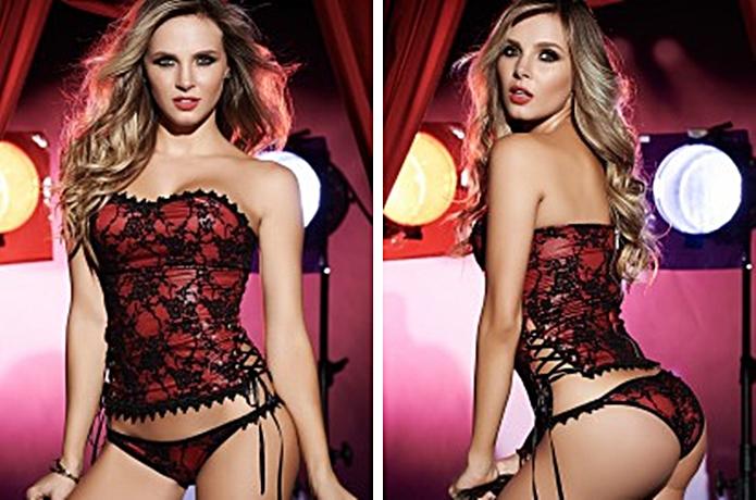 lace corset