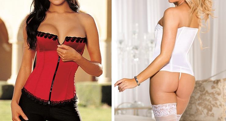 open bust corsets