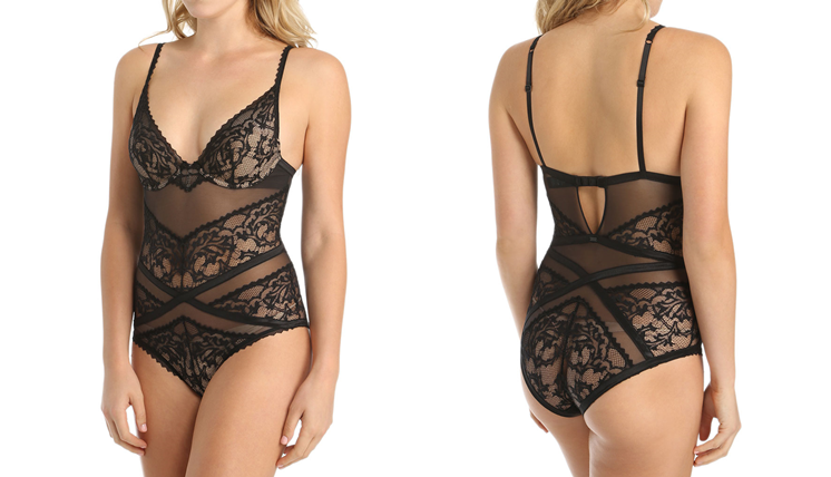 A lace bodysuit is one of the most versatile styles of sheer lingerie that you can mix and match with favorites you already have.