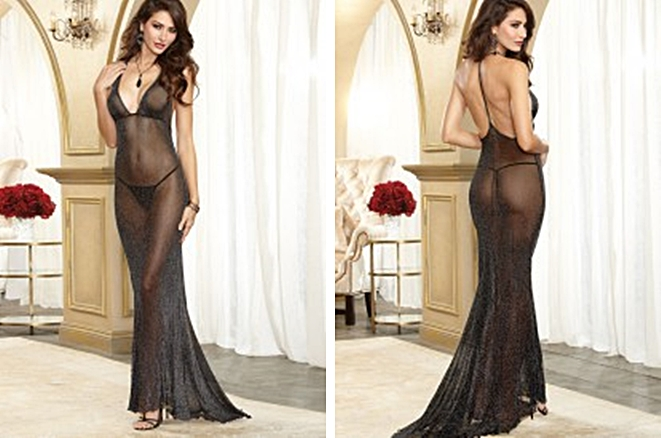 sheer negligee