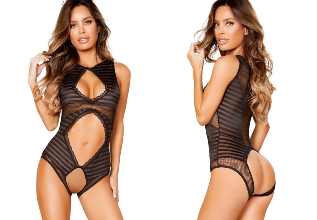 open crotch lingerie