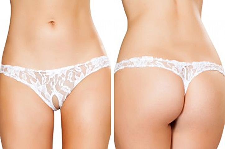 lace thongs