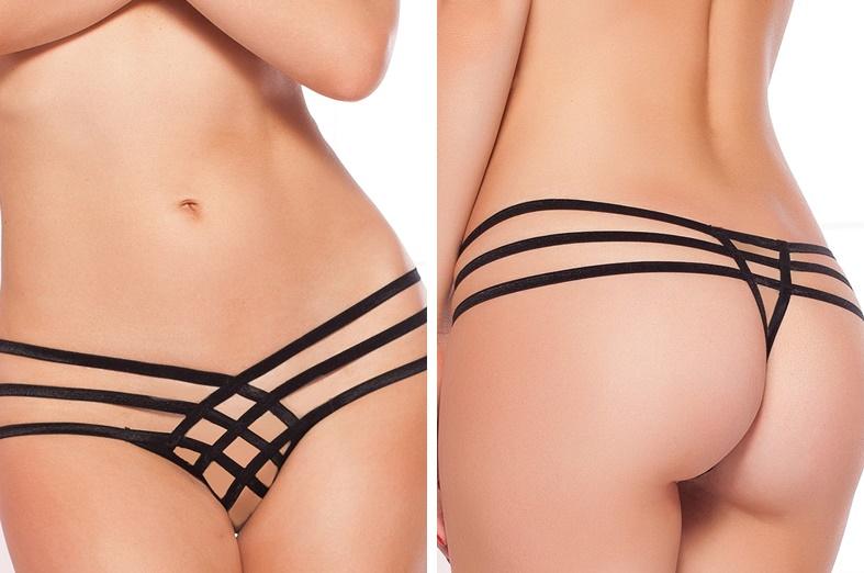 open crotch panties